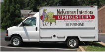 Delivery Truck for McKenney Interiors