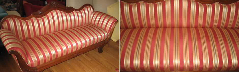 Quality Upholstery Workmanship