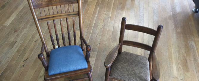 Rocking chair upholstery services