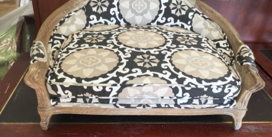 Upholstered Dog Bed